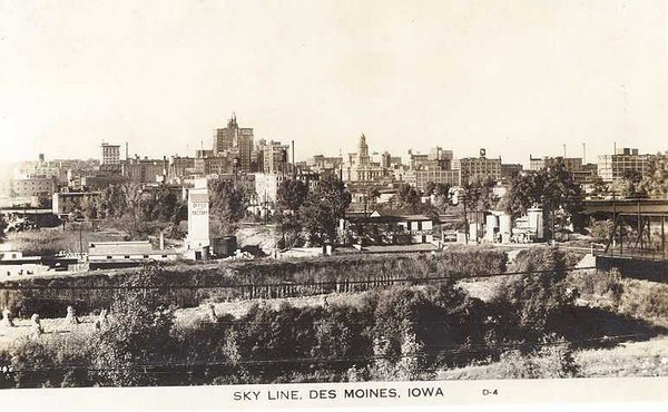 Skyline from the South 1924