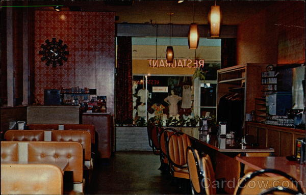 Park Fair Restaurant<br /> Park Fair Shopping Center<br /> c mid 1960's