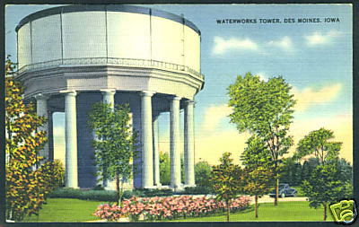 Waterworks Tower Park<br /> 44th & Hickman