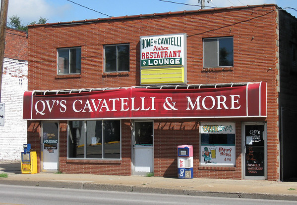 QVs Cavatell & More<br /> Serving Helen & Pat's receipe<br /> Originally Helen & Pat's Restaurant<br /> Closed August, 2010