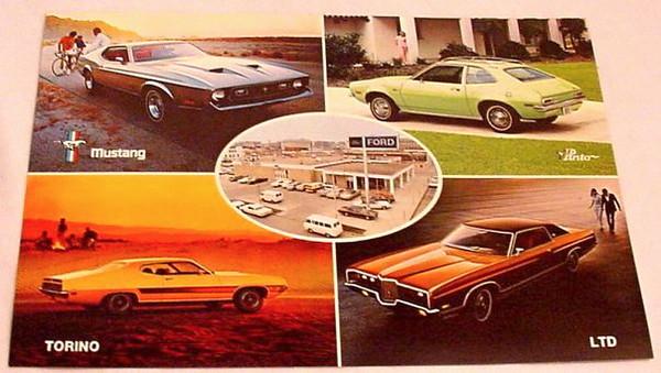 Dewey Ford Postcard - 1971