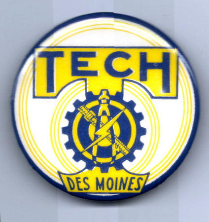 DM Tech High Spirit Button<br /> c1966