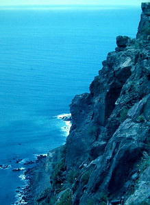 Steep Cliffs near Ensenada