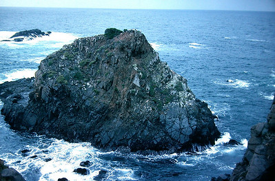 Rocks at La Bufadora (the Blowhole)
