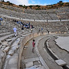 Ancient Ephesus, Turkey - main amphitheater, where riot was held against the Apostle Paul