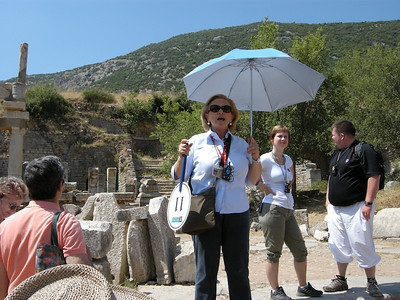 Sarah - our Jewish Tour guide