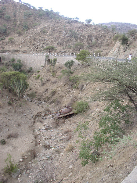 As are tanks, remnants from Eritrea's 30-year war with Ethiopia