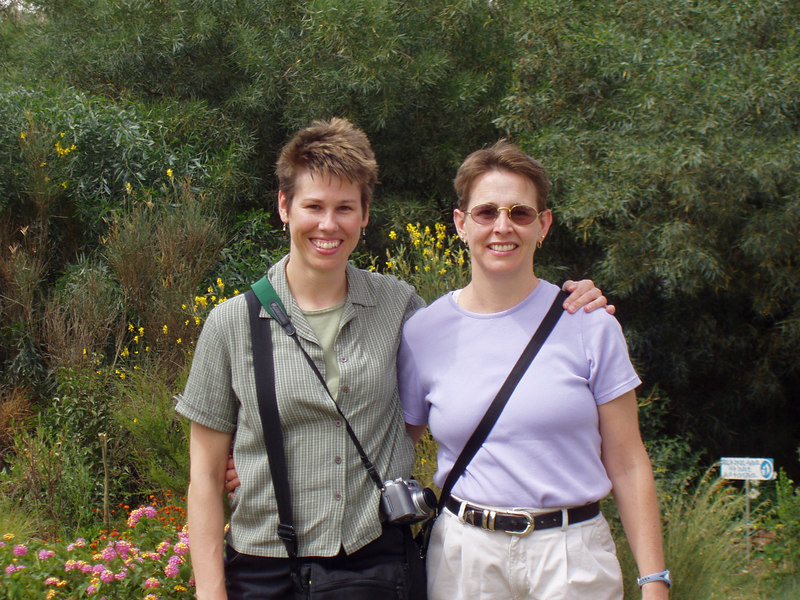 My sister Ann (right) and I travelled to Eritrea, in NE Africa, in June 2006, to teach medical students