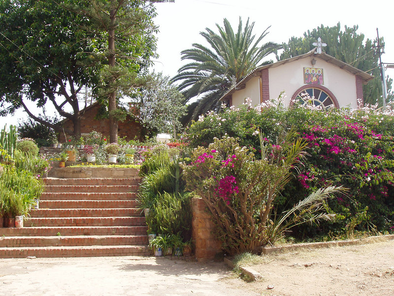 The capital of Eritrea, Asmara, is at 9000 feet elevation, temperate climate, and has many remnants from Italian colonization
