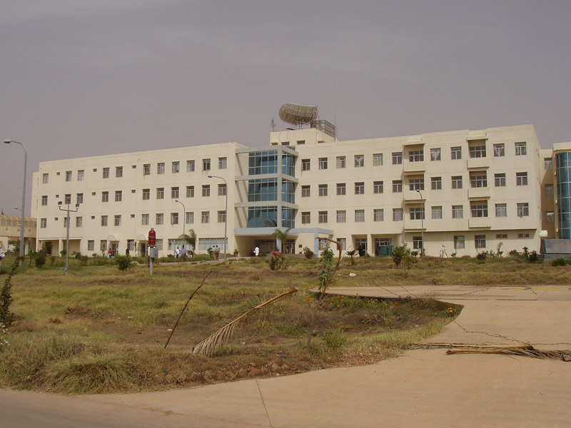 Orotta Hospital, Asmara, building donated by the Chinese