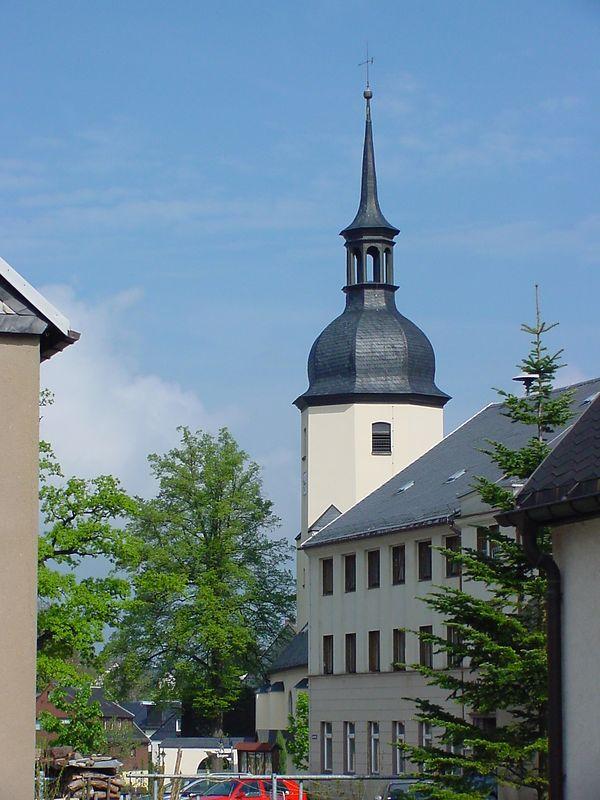 Sosa im Erzgebirge - Kirche