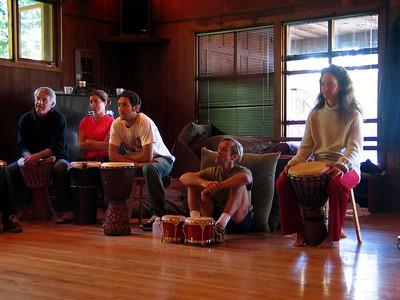 African Drum Workshop - Esalen Institute, Big Sur, July 2003