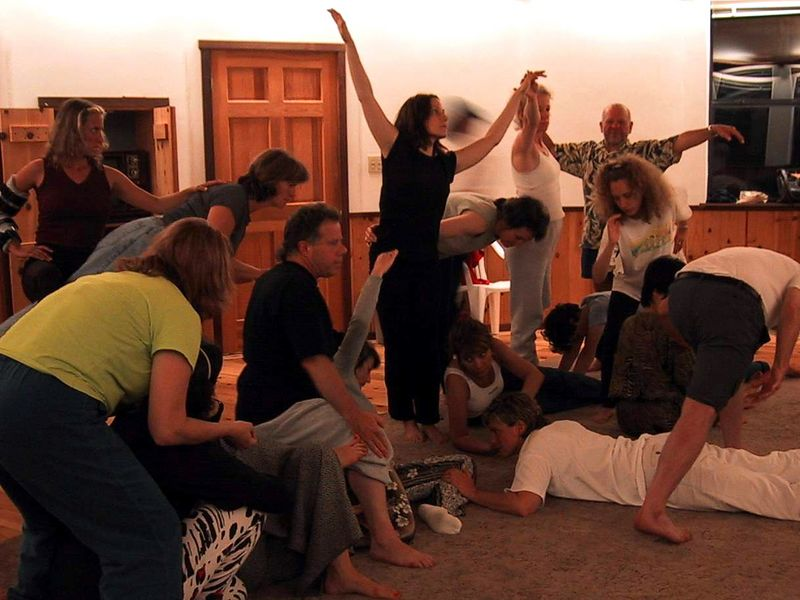 Singing, Dancing and Storytelling Workshop with Nina Wise - Esalen Institute, Big Sur, June 2000
