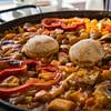 Paella de verduras & sepias  - Restaurante El Mirador - Muelle de los Pescadores - El Cotillo - Fuerteventura - España