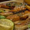 Salmón a la plancha - Restaurante Avenida - Corralejo - La Oliva - Fuerteventura - España