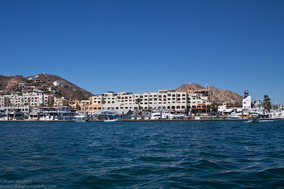 The harbor in Cabo San Lucas