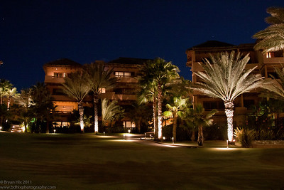 Esperanza Resort at night
