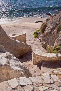 Stairs to the beach at Esperanza