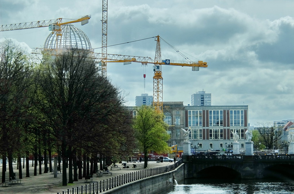 Major construction continues all over Berlin as it recovers from World War II