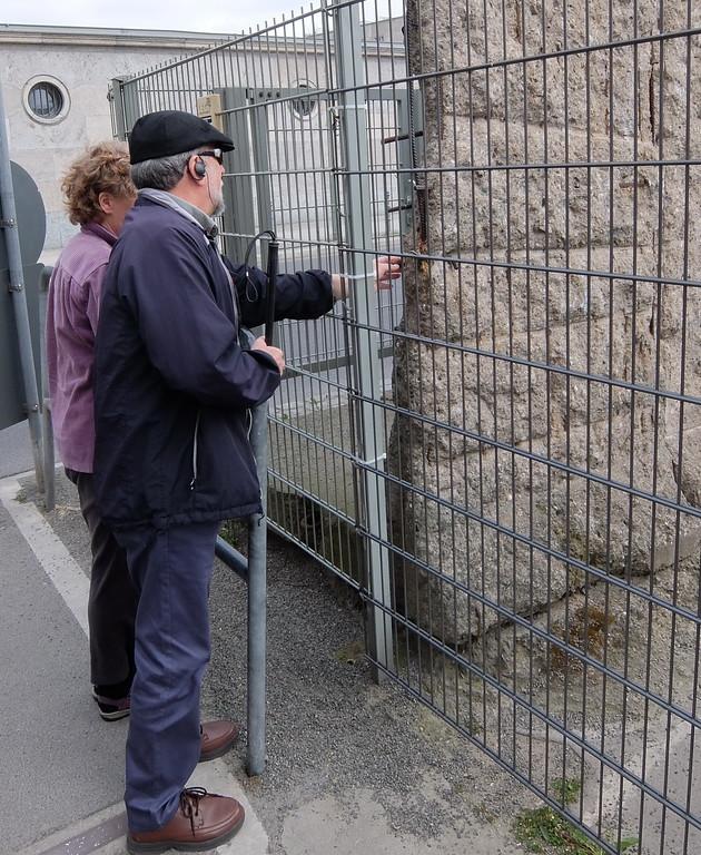 Dick and Susan at the Berlin Wall