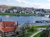 Overlooking the Elbe River