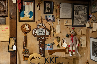 A smattering of the different keys displayed