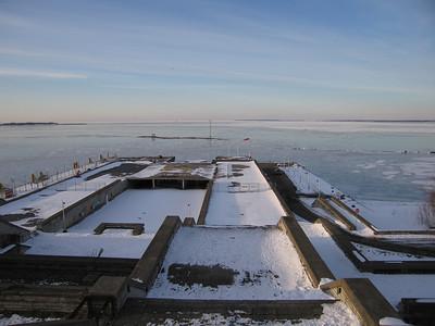Ijs op de Oostzee (Finse Golf)