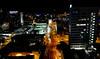 OAT Trip/Poland-Lithuania-Latvia-Estonia-Russia/13 Sep-02 Oct 2016.  Estonia.  Night time view from the restuarant atop our hotel in Tallinn.