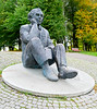 """OAT Trip/Poland-Lithuania-Latvia-Estonia-Russia/13 Sep-02 Oct 2016.   Estonia.  Tallinn.  Gustav Ernesaks statue at the Song Festival grounds.  One of the driving forces behind the national song festival - as well as its general manager.<br /> <a href=""""http://www.visitestonia.com/en/gustav-ernesaks-memorial"""">http://www.visitestonia.com/en/gustav-ernesaks-memorial</a><br /> <a href=""""https://en.wikipedia.org/wiki/Gustav_Ernesaks"""">https://en.wikipedia.org/wiki/Gustav_Ernesaks</a>"""