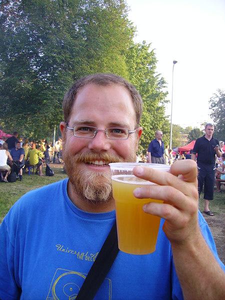 A nice murky beer at Tallinn Beer Festival