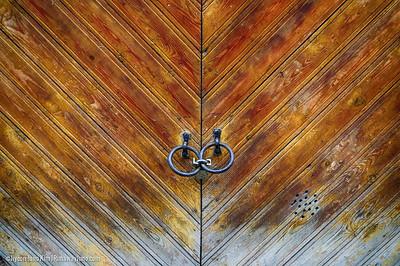 Doors at Tallinn, Estonia