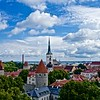 Tallinn Old Town Skyscape