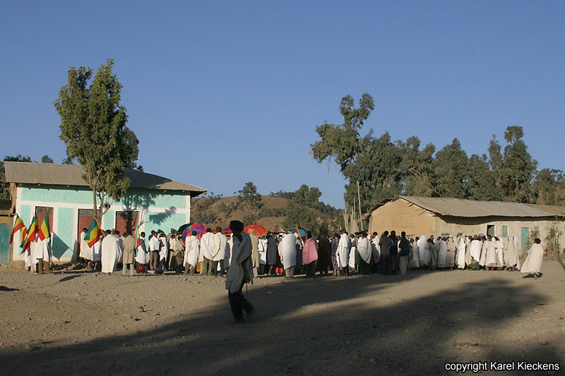 Begrafenis in Hagere selam_010