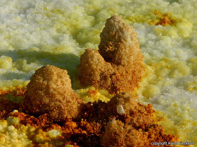 30 Dallol Kristalformaties