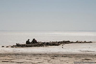37 Asale Zoutwinning bij het zoutmeer