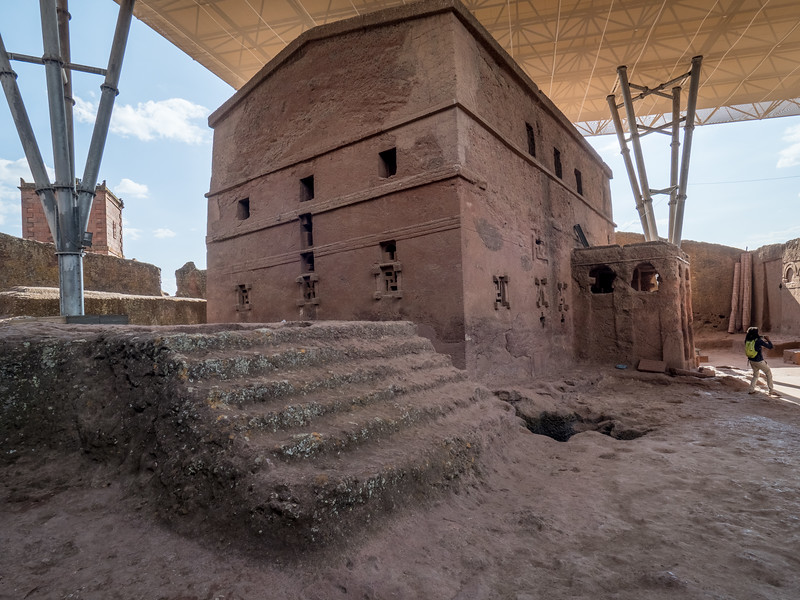 Bet Maryam (12C), Thought to be the First Church Built in Lalibela