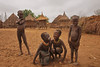 Childrens Karo, one of the most beautiful place in the Omo valley
