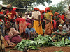 Typical market in the South of Ethiopia (Ari Tribe)