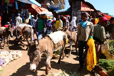 The Mayhem of Mercato. a 118 hectare open-air market in Addis