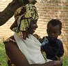 Outside of HIV testing clinic in Kigali, Rwanda
