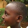 Profile of boy on Palm Sunday in Kigali, Rwanda
