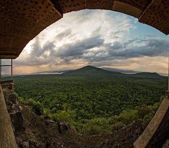 Sunset from the Paradise Lodge (Arba Minch, Ethiopia)