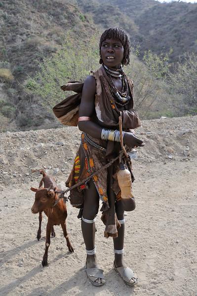 Hamer people in Ethiopia
