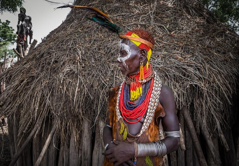 Woman of the Karo Tribe