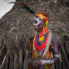 Woman of the Karo Tribe