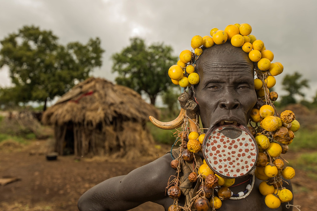 The Mursi Elder (Omo Valley, Ethiopia)