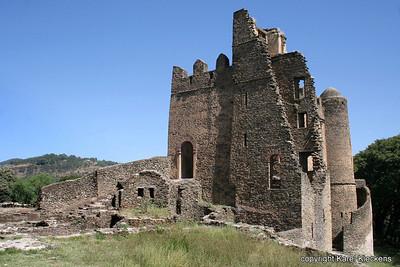 22 Gondar kasteel van Iyasu