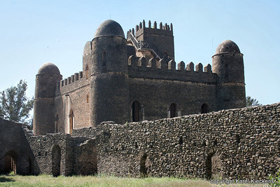 19 Gondar kasteel van Fasiladas