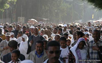 001 Timkat in Addis Ababa  bij Jan Meda