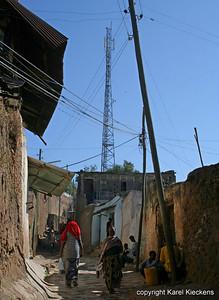 37  Gsm-mast in de oude stad